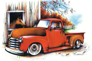 1953 Chevy truck t-shirt     S,M,L or XL