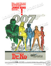 DR. NO LOBBY CARD POSTER OS 1962 JAMES BOND 007 SEAN CONNERY URSULA ANDRESS
