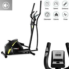 Elliptical Machine Stationary Gym Bike Magnetic Indoor Exercise Fitness Screen