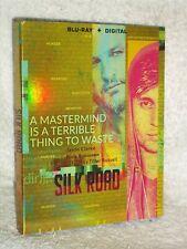 Silk Road (Blu-ray, 2021) Jason Clake Nick Robinson Digital Code SLIPCOVER