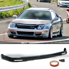 Fits 97- 01 Prelude Unpainted Polyurethane P1 Style Front Bumper Lip Body Kit