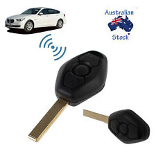 New Remote Key Fob 433MHz W/ Blade For BMW 3 5 7 Series E39 E46 M5 Replacement