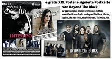 Sonic Seducer 09-2018+POSTER und sign. Postkarte von Beyond The Black (249 Ex.)