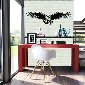 Dekadron Metal Wall Art, Metal Eagle Decor, Metal Bird Art 5001