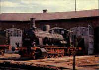 Lokomotive Eisenbahn Motiv-Postkarte DDR Güterzug Lok Nr. 53669 in Thüringen