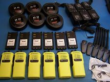 6 Motorola HT750 VHF 136-174  4 Channel  Mint Condition Tested