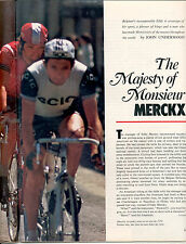 Sports Illustrated EDDIE MERCKX Bicycle Article Entire Issue TOUR de FRANCE
