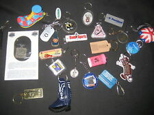 Keychain Collection of 24 key chains from all over        J7
