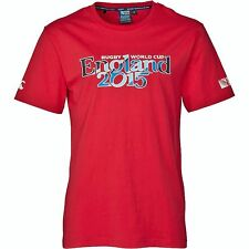 Official Rugby World Cup 2015 England Script Cotton T-Shirt by Canterbury S BNWT