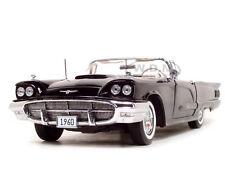 1960 FORD THUNDERBIRD OPEN CONVERTIBLE RAVEN BLACK 1/18 BY SUNSTAR 4313