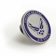 Usaf Brass Lapel Pin U.S. Air Force -