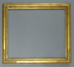 "Newcomb Macklin Frame, Art Deco, Large, Antique, Gold, 31 1/4"" X 35 1/4"""
