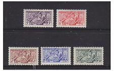 Monaco - 1955 Seal of Prince Rainier III set - MNH - SG 512/16