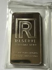 10 oz Scottsdale Reserve Sealed .999 Fine Silver Bullion Bar - 10 Troy Ounce