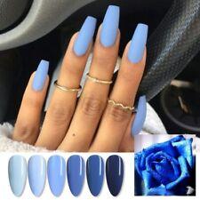 R-S Nail Haze blue Gel Nail Polish UV Gel Semi Permanent Nail Art varnish 15ml