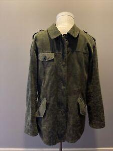 Scotch /& Soda Mens AMS Blauw Double Layered Parka Jacket