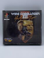 PS1 Wing Commander III 3 Heart of the Tiger-Sony ps1 Playstation 1 Spiel 4 DISCS
