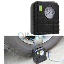 Car Motorcycle Motor Bike Compact  Tyre Air Compressor Inflator Pump12v