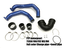 SGER FTP F80 F82 M3 M4 Full color Charge pipe +boost pipe (BLUE)