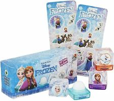Disney Frozen Ice Cube Shaped Trio Flavoured Lip Balms with Aloe Vera
