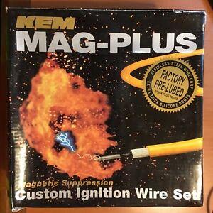KEM MAG-PLUS 11-4052M CUSTOM IGNITION WIRE SET 4930