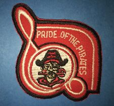 Vintage 1960's Pride Of The Pirates Hobby Sew On Hipster Jacket Hat Patch Crest