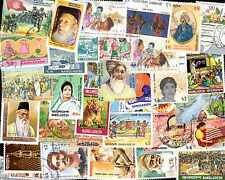 Bangladesch Kollektionen von 50 à 500 Briefmarken Unterschiedliche