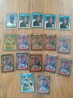 12 Greg Maddux Rookie Cards 10 1987 Donruss And 2 1987 Fleer.  5 Barry Bonds...