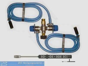 HOCHDRUCK HD Chemieinjektor 2xAnsaugung EDELSTAHL Hochdruckreinig Kärcher Kränzl
