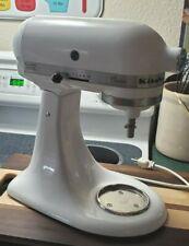 KitchenAid Classic Tilt-head Stand Mixer 4.5 Qt. 4.3 Liters White No Attachments