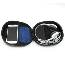Portable Storage Large DJ Hard Case Bag Holder For SD TF Card Earphone Headphone