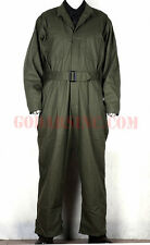 WWII US Army 1st Pattern Plain Green HBT Tanker Coverall 42R (M)