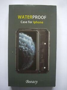 BEEASY WATERPROOF SHOCKPROOF IP68 CASE FOR APPLE iPHONE 11 PRO ALUMINIUM BLACK