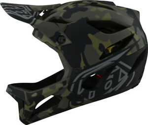 Troy Lee Designs Stage MIPS Full Face Bike Helmet Camo Olive
