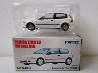 *NEW* Tomytec Tomica Limited Vintage Honda Civic EG6 SiR LV-N48 White