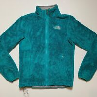 The North Face Womens Osito Jacket Sweater Full Zip Teal Green Extra Small XS