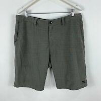 Billabong Mens Shorts 36 Grey Zip Closure Board Shorts Pockets
