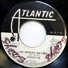 BONEY M 45 No Woman No Cry / Daddy Cool NEAR MINT Disco JA PRESS c1488