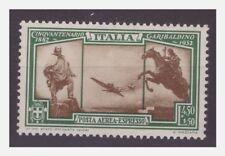 REGNO 1932 -  GARIBALDI   ESPRESSO AEREO   -  LIRE 4,50   NUOVO  **