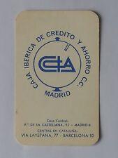 CALENDARIO CAJA DE CREDITO Y AHORRO C.C.MADRID. AÑO 1968.