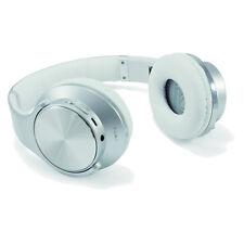 Auriculares de plata de diadema