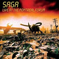 Saga - Live At The Montreal Forum (2018)  CD  NEW/SEALED  SPEEDYPOST