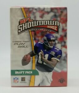 2002 NFL Showdown Sports Card Game DRAFT PACK 1st Edition Sealed Box WOTC NIB