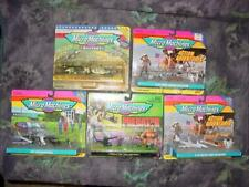 (5) MICRO MACHINES Sets by Galoob - Shuttle Prez Lunar Predator 1st Strike Sets