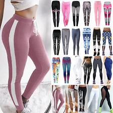 Womens Fitness Yoga Leggings Running Gym Sport High Waist Skinny Pants Trousers