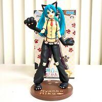 Sega Hatsune Miku Vocaloid Project DIVA SPM Figure Toy Miku Nyanko Cat SG4488