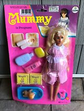Vintage Doll Barbie Clone Pregnant Maternity European Mummy & Baby Accessories