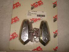 Yana Shiki Chrome Mirror Block Off Plate Yamaha R1 1998-2006