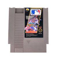Major League Baseball MLB (Nintendo NES, 1988) Authentic Cartridge Polished Pins