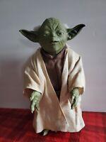 "Star Wars Call On Yoda Interactive Figure - 2005 Hasbro - 12"""